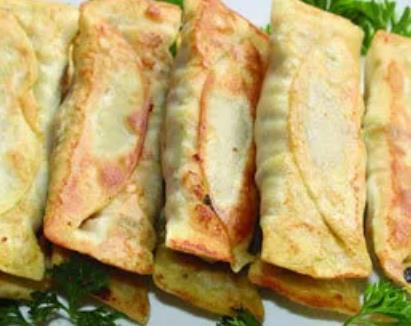 赣榆豆腐卷子:连云港赣榆特色美食豆腐卷子,产地食品,产地宝