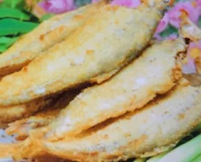 赣榆油炸黄鲫鱼:连云港市赣榆区特色美食油炸黄鲫鱼,产地宝