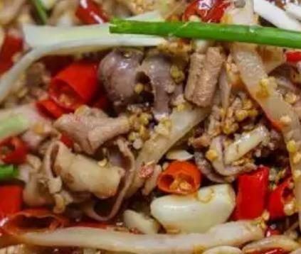 黔江鸡杂:重庆黔江区特色美食小吃鸡杂,地理标志产品鸡杂,产地宝