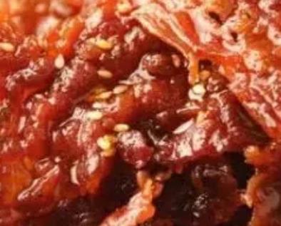 黔江牛肉脯:重庆黔江区特色美食小吃牛肉脯,产地食品牛肉脯,产地宝